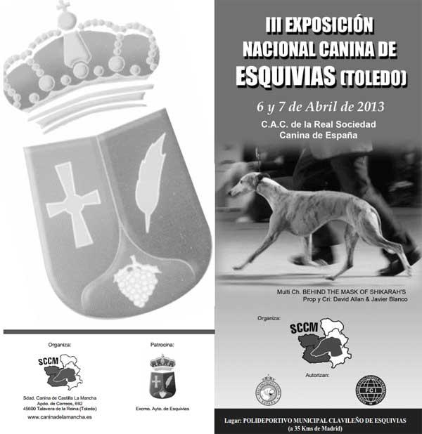 Exposición Nacional Canina de Esquivias, Toledo. Horarios, cómo llegar...