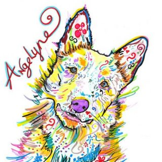 Angelyne the Amazing DEAF Cattle Dog, Una perrita sorda, que trabaja para concienciar.