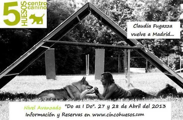 Seminario Do as I do, nivel avanzado. Claudia Fugazza vuelve a Madrid.