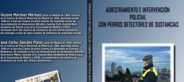 """Libro electrónico """"Adiestramiento e intervención policial con perros detectores de sustancias""""."""