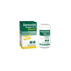 ¿Problemas de piel en el perro? Dermovital Omega 3-6-9 presenta su nueva formulacion.