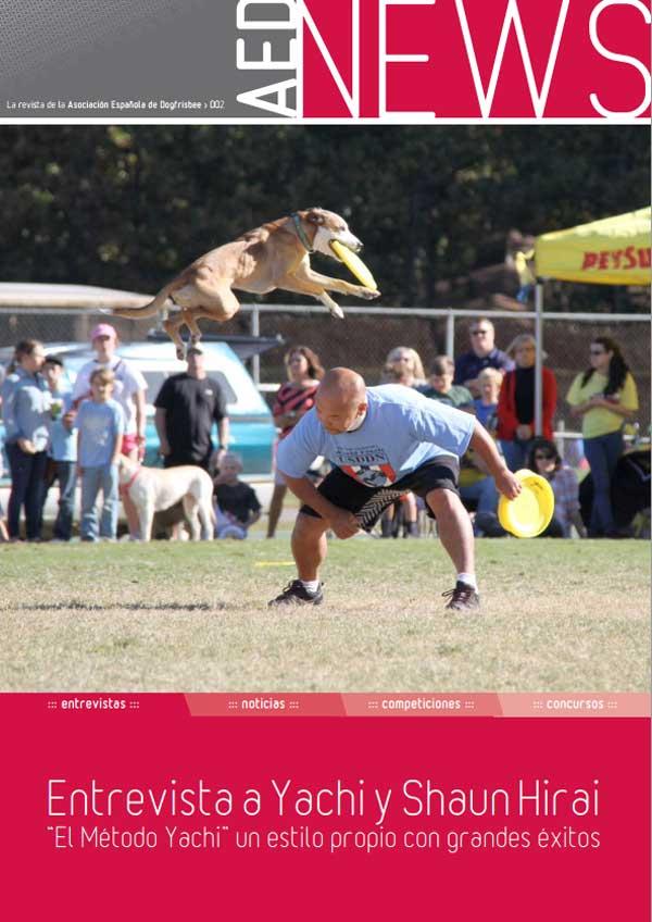 Revista gratis de la Asociación Española de Dog Frisbee