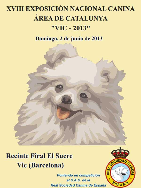 XVIII Exposición Canina Nacional de Vic, horarios, cómo llegar...