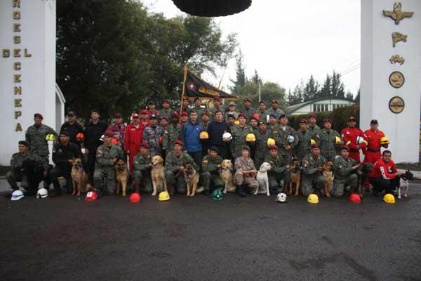 El XXXVII Curso Internacional Método ARCÓN de Búsqueda y Detección Canina (Personas con Vida Sepultadas) se realizará en Quito, desde el 9 de septiembre hasta el 4 de octubre del presente 2013, organizado por el GIR ,oficial por la Secretaría Nacional de Gestión de Riesgos y el Ministerio del Interior del Gobierno de Ecuador.