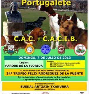Exposición Internacional Canina de Portugalete, horarios, cómo llegar, premios especiales...