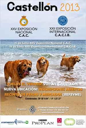 15 y 16 de junio: Exposición Canina Nac/Internacional de Castellón.