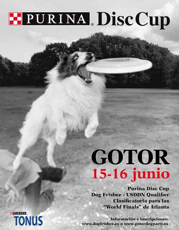 Gotor Dog Party: Purina Disc Cup en Gotor.