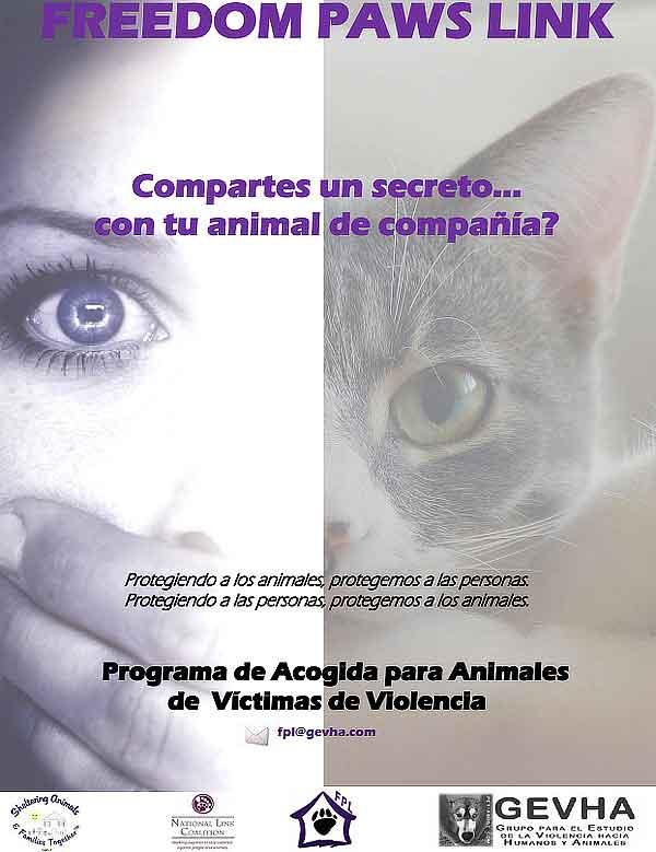 Freedom Paws Link: programa de acogida para las mascotas de personas víctimas de violencia de género.