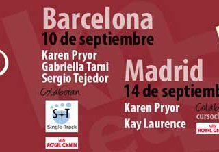 Karen Pryor en España y Portugal, cuenta atrás.