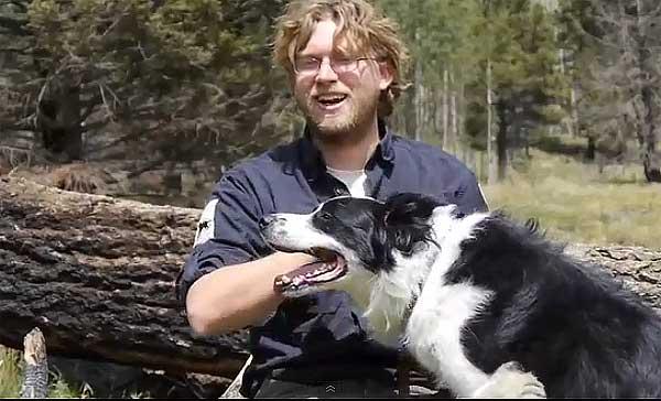 Perros detectores de... salamandras. Perros detectores de fauna silvestre, rescatados de perreras.