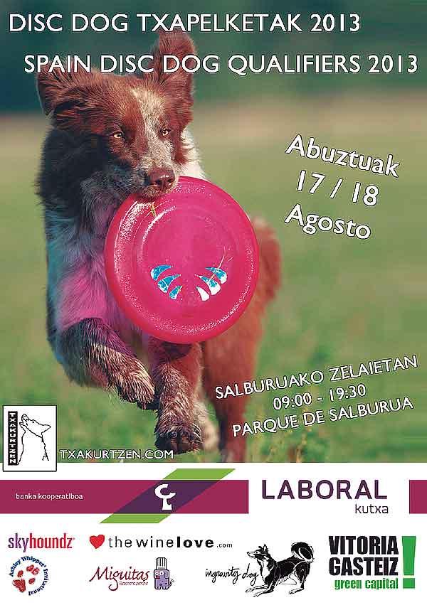 """""""Vitoria Gasteiz´s Disc Dog Week"""" se consolida como la gran cita del Disc Dog en España. 15 al 18 de agosto."""