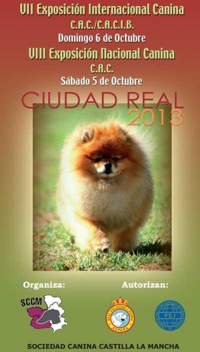 VII Exposición Canina Internacional de Ciudad Real, próximo fin de semana.