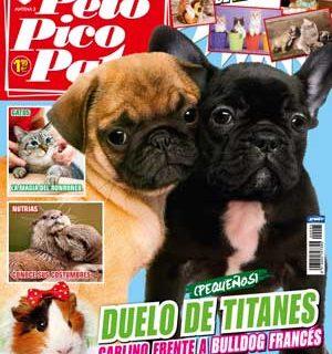 Revista Pelo Pico Pata septiembre 2013: Bulldog francés y carlino como razas principales, Ajax el perro de la Guardia Civil condecorado, Claves para adoptar un perro (o un gato), Aprender de los perros...