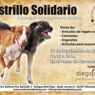 Rastrillo Solidario de la Protectora de Alcoy, próximo sábado 21 de septiembre.