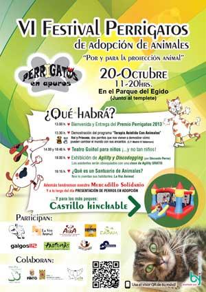 Jornadas de adopción de perros en Madrid (parque del Egido, Pinto) y Sevilla (parque del Alamillo). Próximo fin de semana.