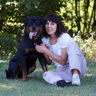 @feiragalicia. El Campeonato del Mundo de Rottweiler 2013 trae a la Feira Internacional de Galicia a los ganadores de las dos últimas ediciones, el perro Balu y la guía italiana Marani Greta.