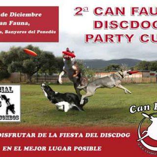 El próximo 7 de diciembre se celebrará la segunda Can Fauna DiscDog Party Cup, en Banyeres del Penedés (Tarragona).