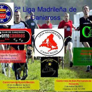 Desde CrossMadrid, quieren compartir con todos los lectores de doogweb la II Liga Madrileña de Mushing 2013/2014 organizada junto con otros clubes madrileños y por la FMDI.