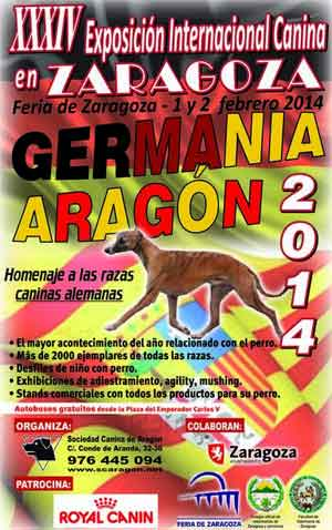 Exposición Canina Nacional/Internacional de Zaragoza, horarios, cómo llegar...
