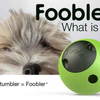 Foobler es un juguete interactivo para perros que dispensa comida durante nueve horas de forma autónoma.