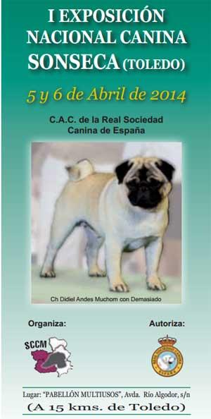 Exposición Nacional Canina de Sonseca (Toledo)
