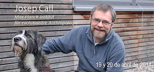 Los próximos 19 y 20 de Abril visitará España Josep Call, el investigador sobre cognición canina castellano parlante más importante del mundo. Seminario presencial y online con el Instituto Tecnológico EDUCAN.