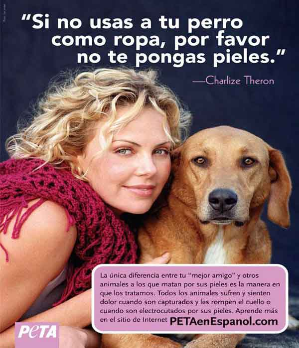 Frase de Charlize Theron.