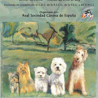 Exposición Canina Internacional de Primavera Madrid 2014
