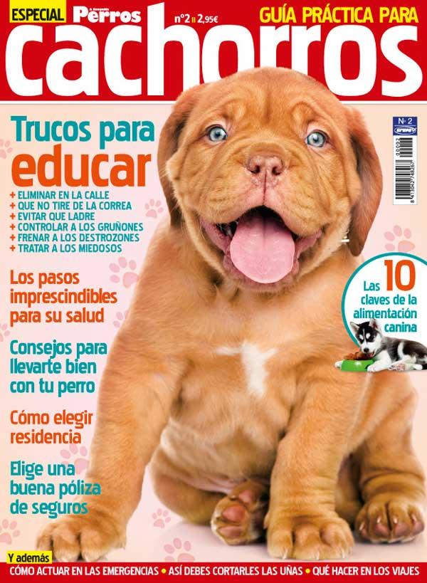 Guía práctica para cachorros, número especial de la revista Perros y Compañía.
