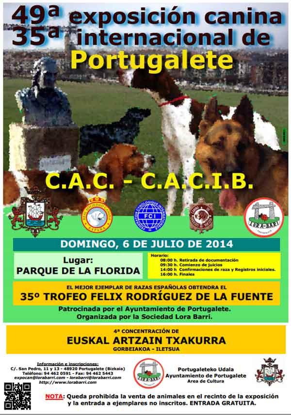 35ª Exposición Canina Internacional de Portugalete y 49ª Exposición canina Nacional