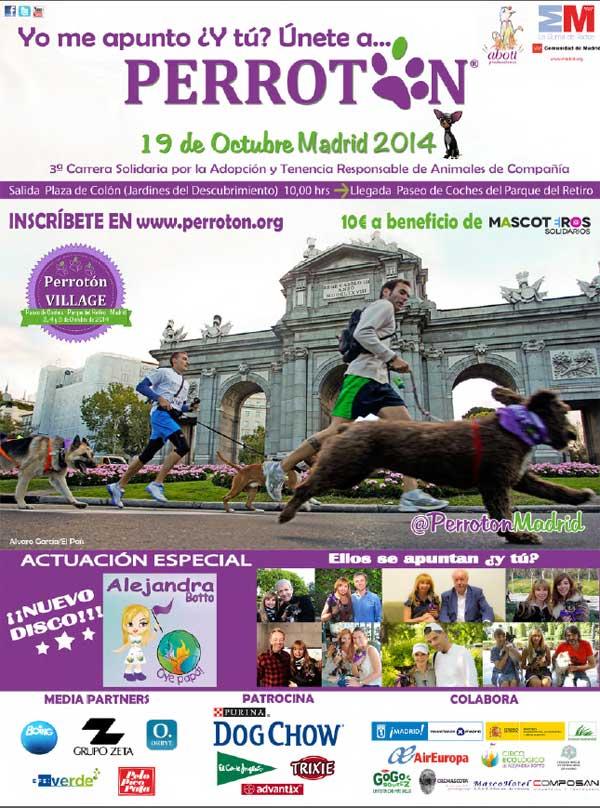 Perrotón 2014 y Salón de la Adopción de Madrid