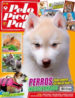 Revista Pelo Pico Pata junio 2014... y en adopciones AXLA Madrid.