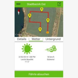 App de rastreo Tracking Dog