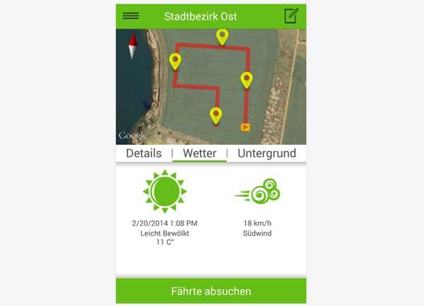 App de rastreo Tracking Dog
