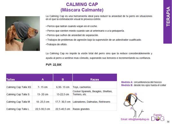 Calming Cap, una excelente herramienta para ayudas a los #perros con problemas de reactividad.