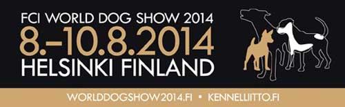 FCI World Dog Show 2014 en Helsinki. 8, 9 y 10 de agosto próximos: 23.000 perros inscritos.