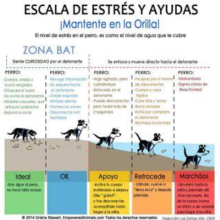 La escala del estrés en el perro (BAT 2.0), por Grisha Stewart.
