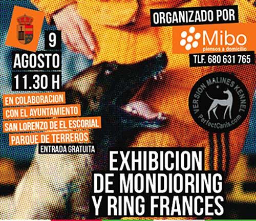 Demostración de Ring Francés y Mondioring en El Escorial.