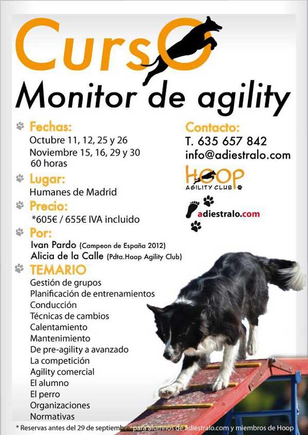 Curso de Monitor de Agility (en Madrid)