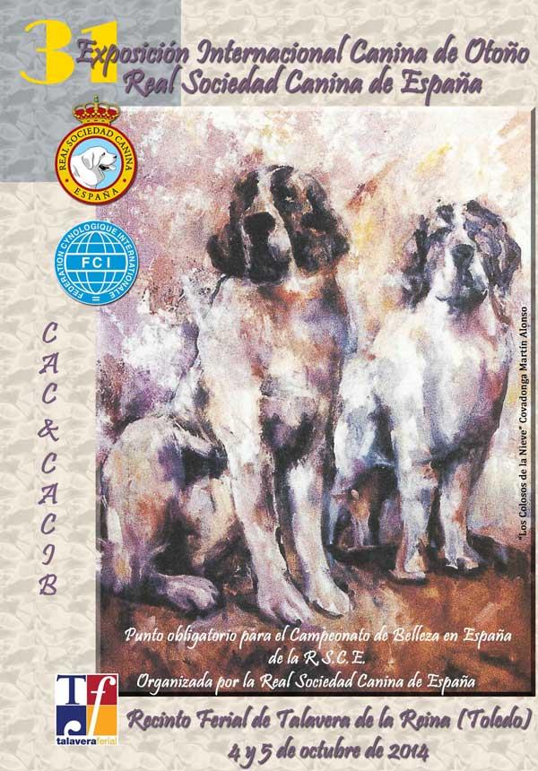 31 Exposición Internacional Canina de Otoño en Talavera, horarios, premios especiales, cómo llegar...