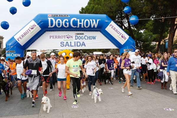 Coincidiendo con la carrera <strong>Perrotón 2014</strong>, Purina Dog Chow aprovecha para concienciar sobre los beneficios que aporta la realización de actividad física tanto para las mascotas como para sus propietarios y demostrar que juntos la vida es mejor.