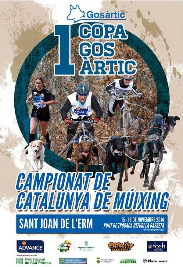 @GosArtic #Mushing Este fin de semana se estrena la Copa Gos Àrtic.