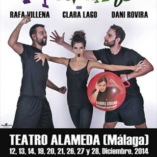 Dani Rovira con la Sociedad Protectora de Animales y Plantas de Málaga