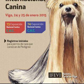 73-74 Expo Canina Nacional y 31 Expo Canina Internacional.
