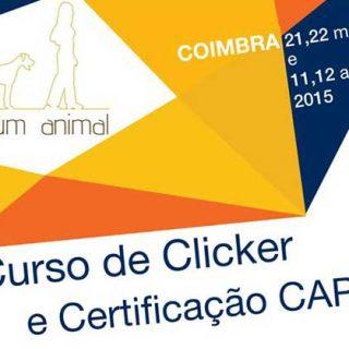 Curso de clicker, con certificación CAP 1 en Portugal (Coimbra).