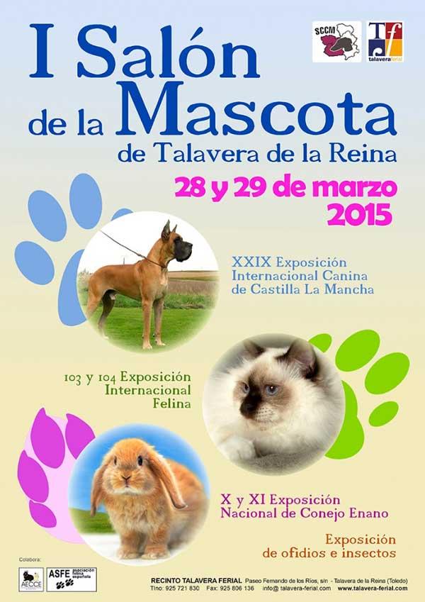 Próximo fin de semana: I Salón de la Masctota de Talavera.