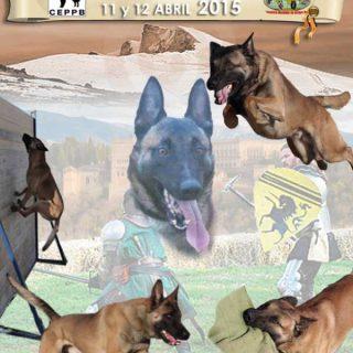 Campeonato de España de Mondioring 2015, 10-11-12 de abril
