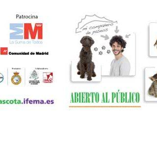 100 X 100 Mascota, la Feria del Animal de Compañía (Organiza: IFEMA), se celebrará el próximo 23 de mayo en horario de 09:30 a 20:00 horas y el 24 de mayo en horario de 09:30 a 19:00 horas (pabellones 7-9).