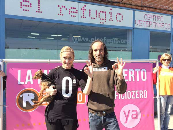 Los candidatos del Partido Popular, Izquierda Unida, UpyD, Podemos, Ciudadanos y Partido Socialista, se comprometen con El Refugio a llevar adelante la reforma de la ley de protección animal, que acabe con el sacrificio de animales abandonados en la Comunidad de Madrid.
