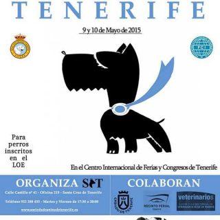 Las Exposiciones Caninas de Tenerife 2015 se celebrarán los días 9 y 10 de Mayo en el Centro Internacional de Ferias y Congresos de Tenerife.